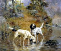 two setters in a cooling stream