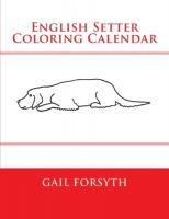 Coloring Calendar Book - US $ 9.95