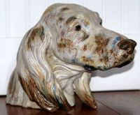 Lladro English Setter Head-Study 1971 - US $ 229.00