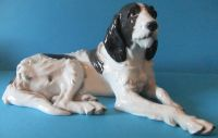 Rare Large Rosenthal English Setter by Artist Obermaier 1930 - US $ 750.00